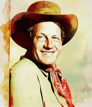 John Springfield - Joel McCrea, Vintage Movie Star