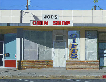 Joe's Coin Shop by Michael Ward