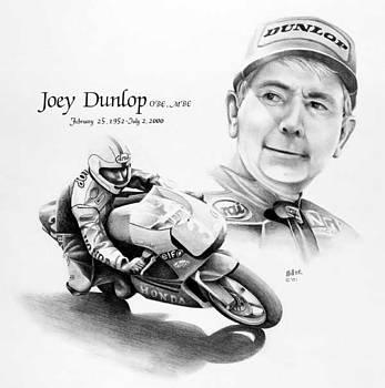 Joey Dunlop by Harry Miller
