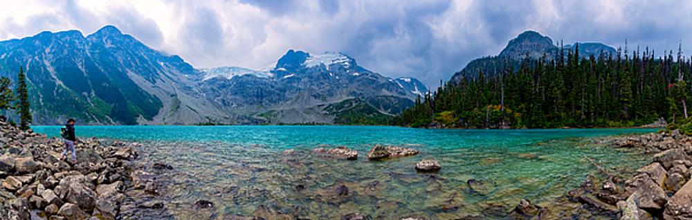 Joffre Lake Panorama by Nebojsa Novakovic