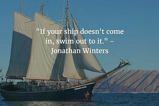 Johathan Winters Quote by Matt Create