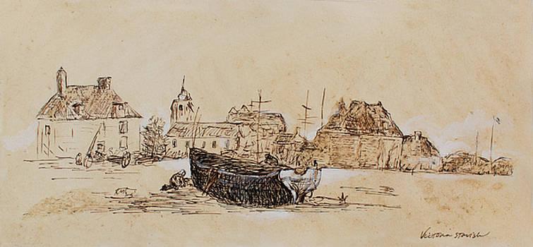 John Boat by Victoria Stavish