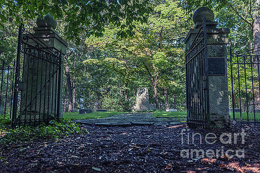 John C Calhoun Cemetery Entrance by Dale Powell