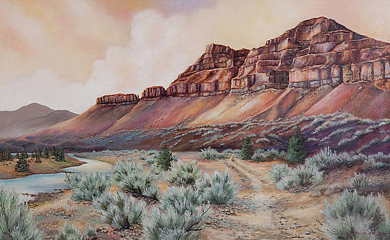 John Day River at 30 Mile by Patricia Baehr-Ross