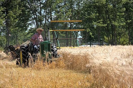 Valerie Kirkwood - John Deere Tractor and Grain Binder