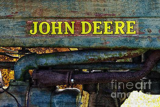 John Deere Workhorse Tractor #779 by Ella Kaye Dickey