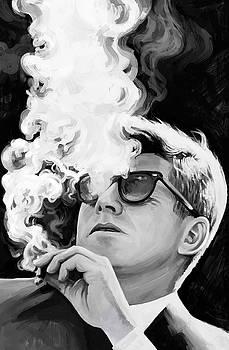 John F. Kennedy Artwork 1 by Sheraz A
