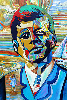 John F Kennedy by Gray