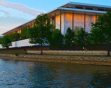 John F. Kennedy Center  by Christopher Kerby