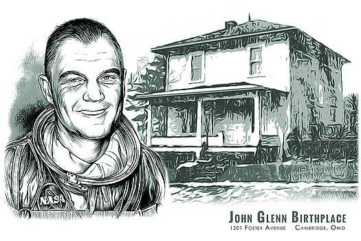 Greg Joens - John Glenn Birthplace BW