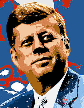 John Kennedy 1962 by John Keaton