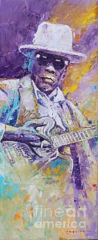 John Lee Hooker 01 by Yuriy Shevchuk