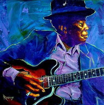 John Lee Hooker by Bernie Rosage Jr