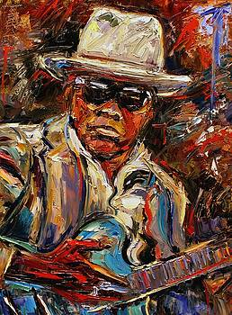 John Lee Hooker by Debra Hurd