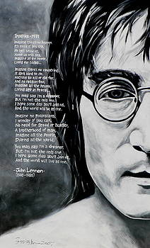 John Lennon - Imagine by Eddie Lim