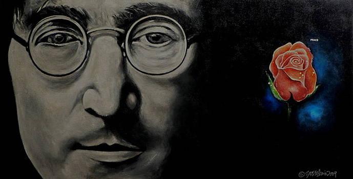 John Lennon - Peace by Eddie Lim