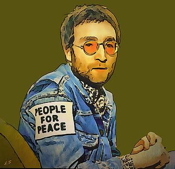 John Lennon 02 by Sergey Lukashin