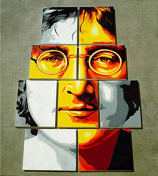 John Lennon ''70 Anniverssary'' by Hector Monroy