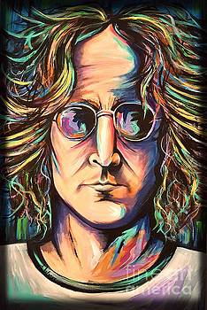 John Lennon by Amy Belonio