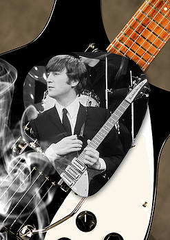 John Lennon Beatles by Marvin Blaine
