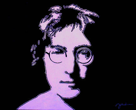John Lennon High Saturation by Ian Cameron