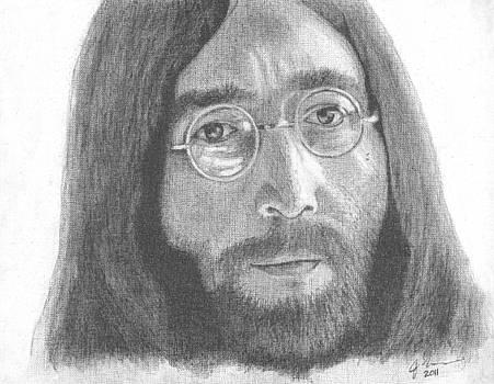 John Lennon by Jeff Ridlen
