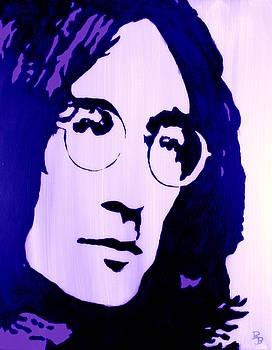 John Lennon, Little Boy Blue by Bob Baker