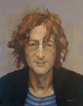 John Lennon by Mike Hanlon