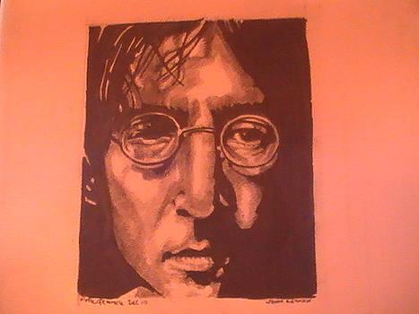 John Lennon by Paul Gemmell
