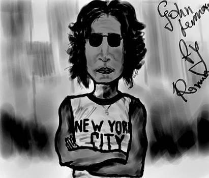 John Lennon by Roman Velichko