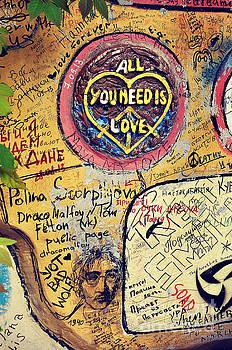 John Lennon Street in St. Petersburg, Russia by Remioni Art