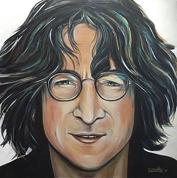 John Lennon by Suzette Castro