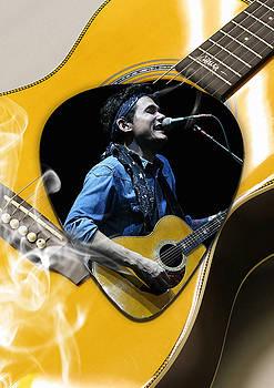 John Mayer Art by Marvin Blaine