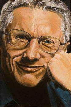 John Morgan Wilson Portrait by Christopher Oakley