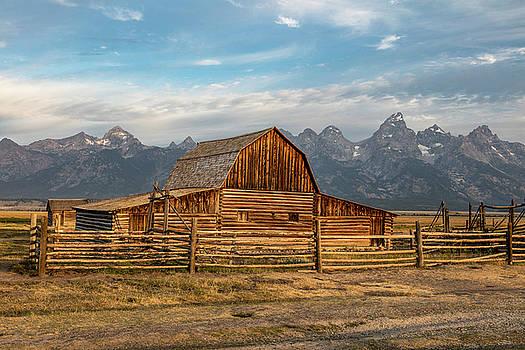 John Moulton Barn Sunrise by John McGraw