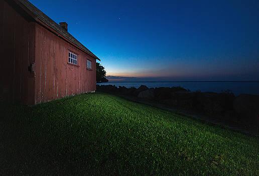 John R. Park Homestead - Sunrise by Cale Best