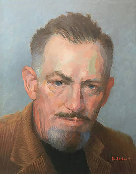 John Steinbeck by Mike Hanlon