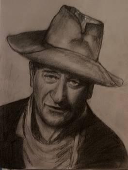 John Wayne by Covaliov Victor