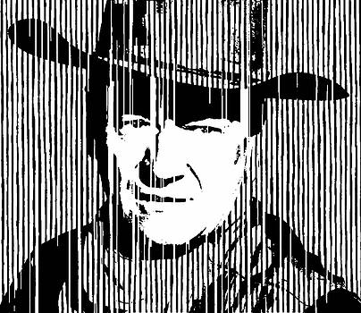 John Wayne Cowboy Huge PRINT by Robert R Splashy Art Abstract Paintings