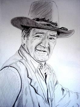 John Wayne by Debbie Braswell