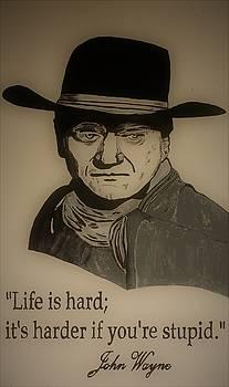 John Wayne 3 by Ralph LeCompte