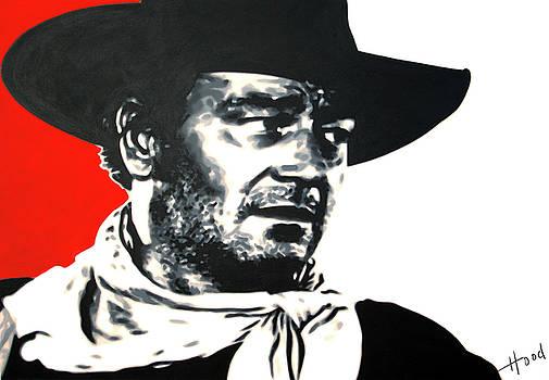 John Wayne by Hood alias Ludzska