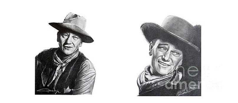 John Wayne by Marianne NANA Betts