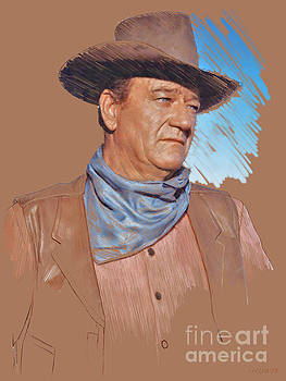 John Wayne by Stephen Shub