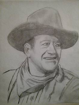 John Wayne the Duke by Rodger Larson
