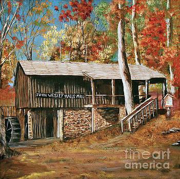 John Wesley Halls Mill by Faye Creel