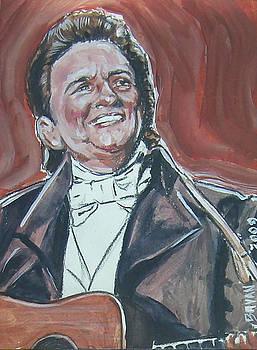 Johnny Cash by Bryan Bustard