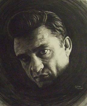 Johnny Cash by Cynthia Campbell
