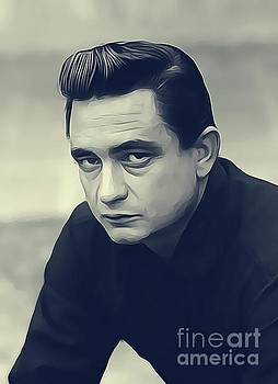 Johnny Cash, Music Legend by John Springfield