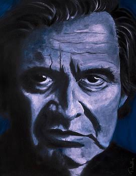 Johnny Cash by Tabetha Landt-Hastings